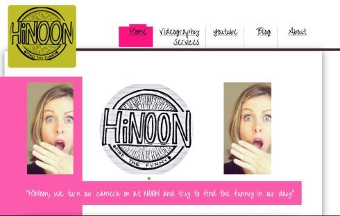 HiNoonMediaHomepage